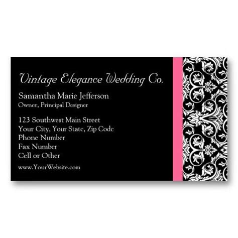 Black And Pink Business Card Template by 16 Best Images About Black And Pink Business Cards On