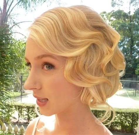 great gatsby prom hair 1920s wedding hair bridal fashion show mood board theme
