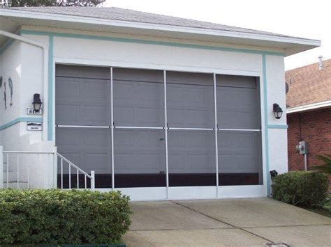 Screen Door For Garage Garage Door Snow Driveway Garage Sliding Screen Doors For Garage