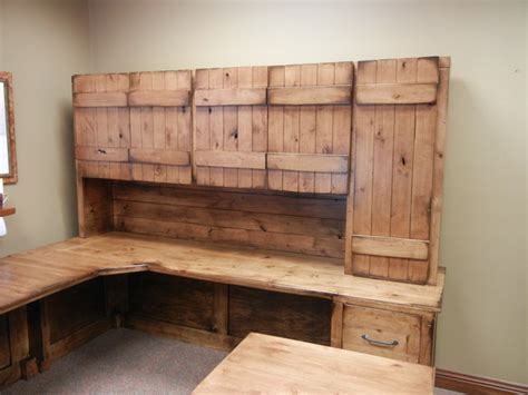 rustic home office desk rustic office desk farmhouse home office omaha by