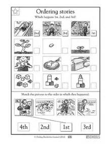 1st grade reading worksheets story sequence greatschools