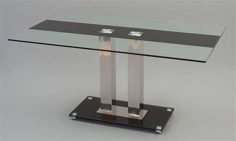 roma designer glass dining table i modern furniture direct