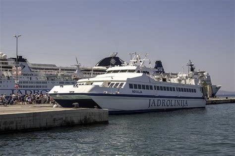 catamaran dubrovnik jadrolinija introduces a new catamaran line