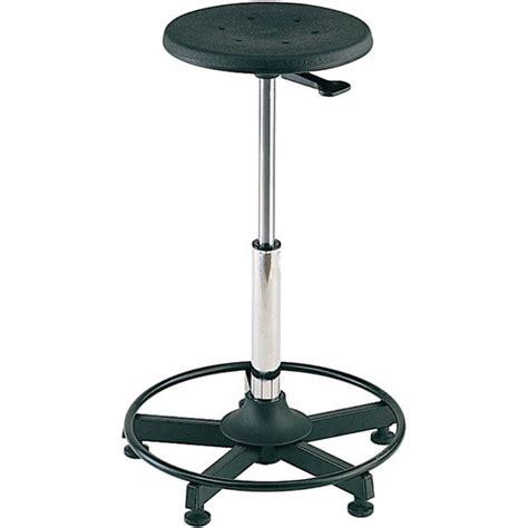 fixed workshop work stool on 5 base 88601020 ese direct
