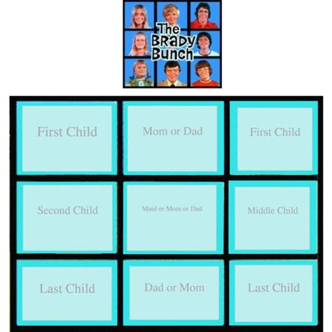 brady bunch template make your brady bunch polyvore