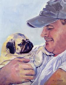 my pug has bumps all his pet portraits terry d chacon