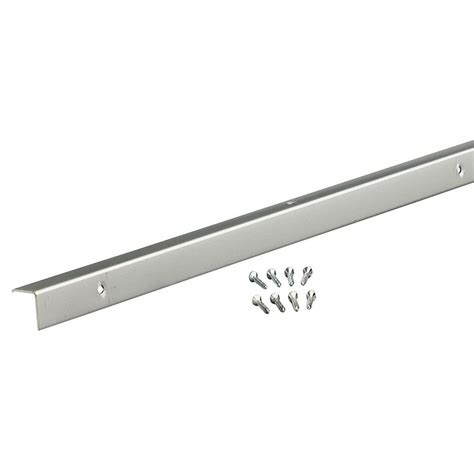 Home Depot Decorative Trim M D Building Products 96 In Decorative Aluminum Inside Corner A773 In Anodized 70367 The Home