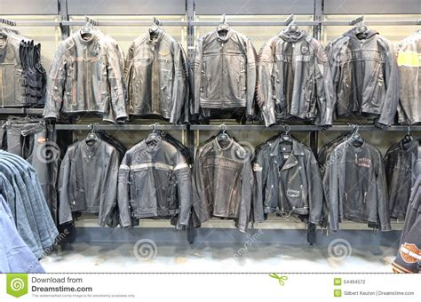 Harley Davidson Time Bry Leather harley davidson leather jackets editorial photography image 54494572