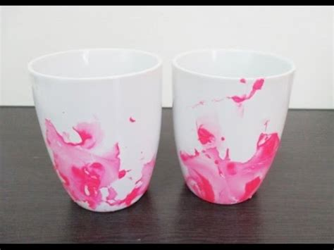 mug design using nail polish diy 86 nail polish mug youtube