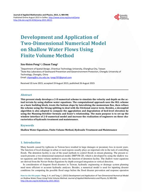 application design journal publication development and application of pdf download available