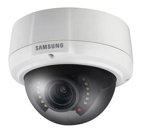 Cctv Samsung Dome Samsung Launch Compact And Robust Vandal Resistant Dome With Built In Ir Leds 1st