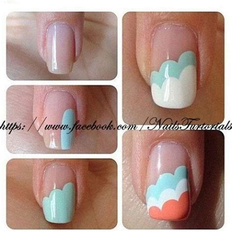 how to paint simple nail manicure step by step