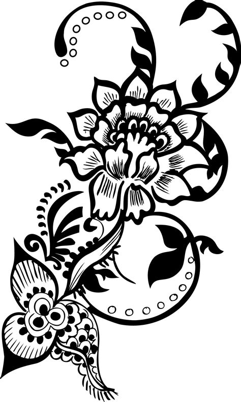 decorative pattern png free floral decorative pack free vector 4vector
