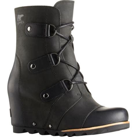 sorel womens boots joan of arctic sorel joan of arctic wedge mid boot s