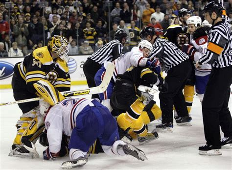 hockey bench clearing brawls nhl needs to let them chuck em online sports news