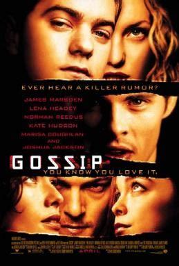 the office gossip script gossip 2000 american film wikipedia