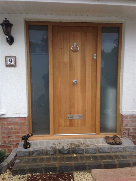 Hardwood Front Door Front Doors Medina Joinery