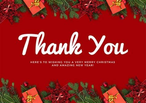merry thank you card template free thank you notes quotes cards printable