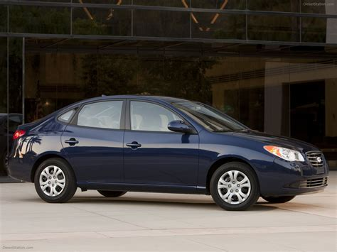 2010 Hyundai Elantra by 2010 Hyundai Elantra Blue Car Picture 07 Of 46