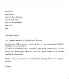 business cover letter sle business cover letter 8 free documents in pdf word
