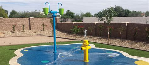 splash pad and spray park product manufacturer rain deck