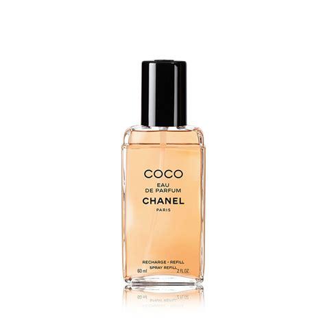 chanel coco eau de parfum refillable spray refill 60ml feelunique