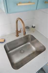 laundry room sink faucets stainless steel laundry room sink with gold gooseneck