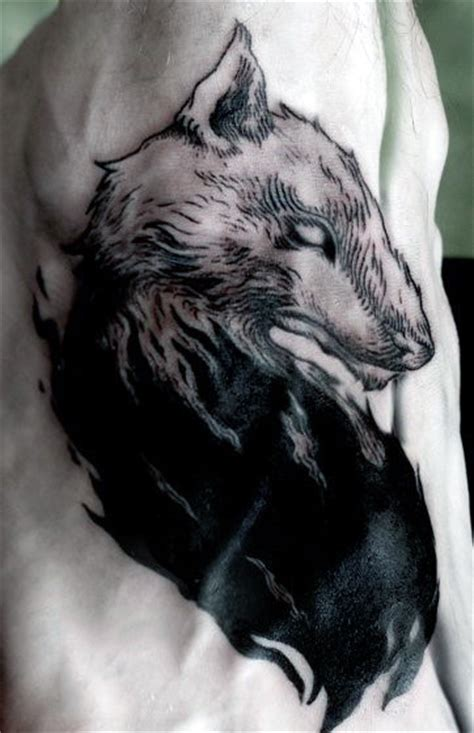 wolf pack tattoo 70 wolf designs for masculine idea inspiration
