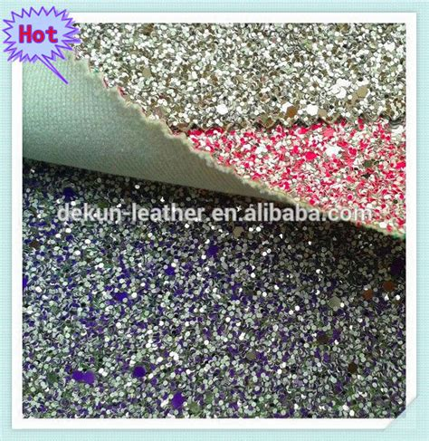 reflective fabric wall paper glitter pu leather decoration material shiny silver glitter decoration wallpaper and glitter