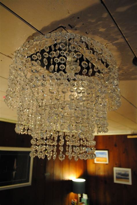 Making My Own Crystal Chandelier Ideas For Tronnes Make Chandelier