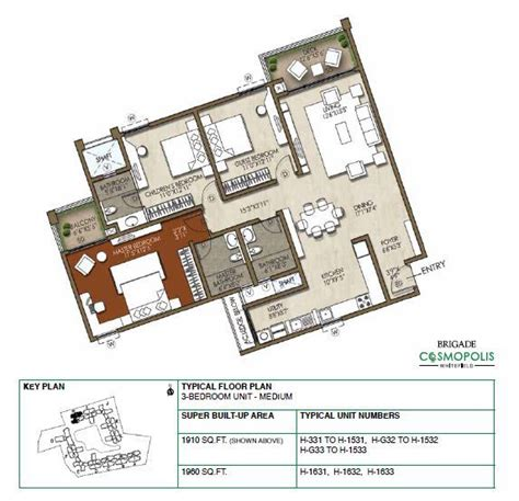 luxurious apartments site plans brigade cosmopolis site brigade cosmopolis apartments whitefield brigade group