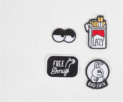 Robot Pin From Lazy Oaf by Lazy Oaf Bad Luck Patch Pack Lapel Pins