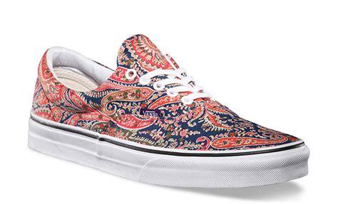 paisley pattern vans patterned paisley sneakers vans liberty art