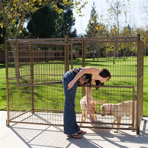 advantek modular outdoor dog kennel dog kennels  hayneedle