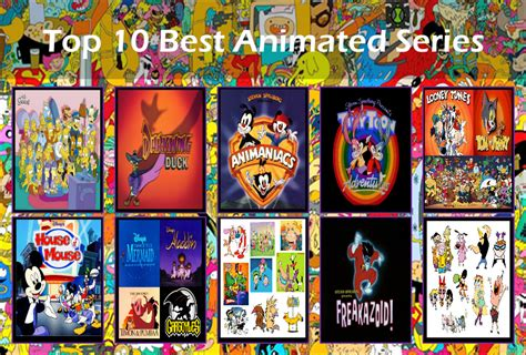 best animated series my top 10 all time favorite tv shows by