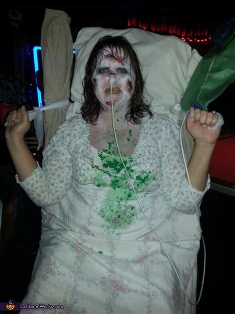homemade exorcist costume halloween web the exorcist regan halloween costume