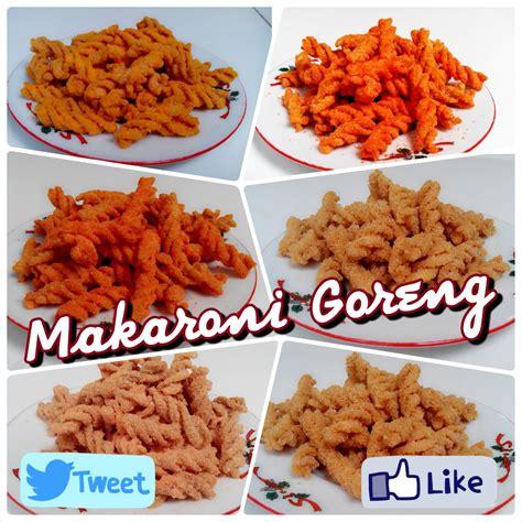 Makaroni Bantet Matang Original Tanpa Rasa jual makaroni goreng fusili crunch enak dan renyah pasto store