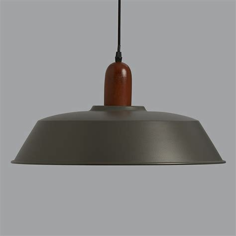 Wood Pendant Light by Phineas Grey And Wood Pendant Light