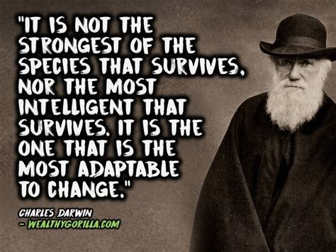 charles darwin quotes 30 inspirational charles darwin quotes wealthy gorilla