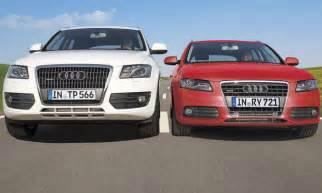 Autoversicherung Audi A4 by Kombi Oder Suv Audi A4 Und Audi Q5 Im Vergleich