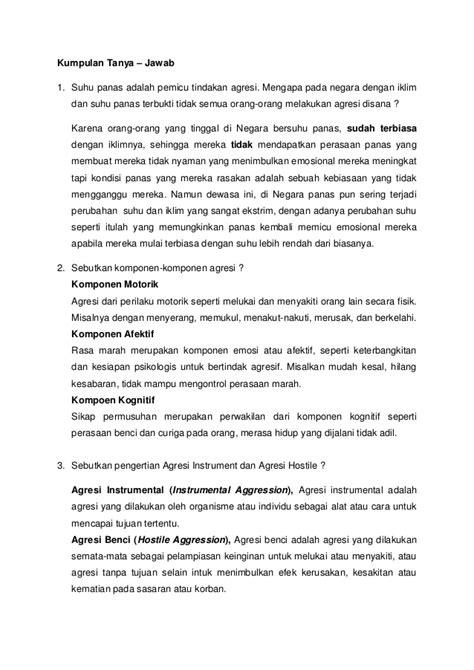 Psikologi Sosial Jilid Ii word psikologi sosial agresi mercubuana 20120