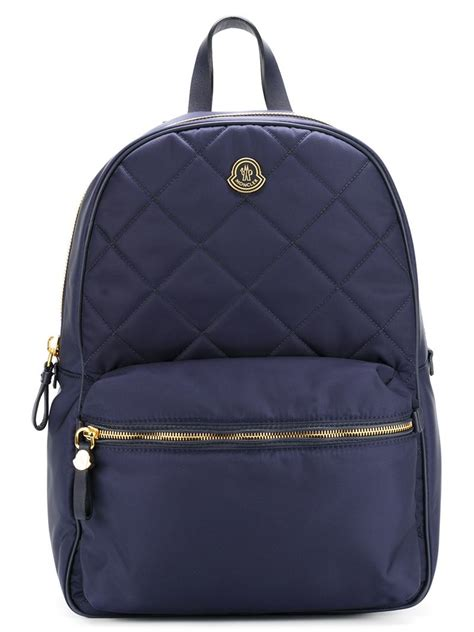 Quilted Backpacks For by Moncler Quilted Backpack In Blue Lyst