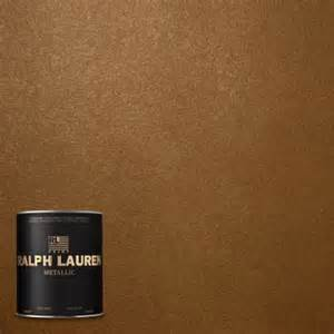 Ralph lauren 1 qt lush brown metallic specialty finish interior paint
