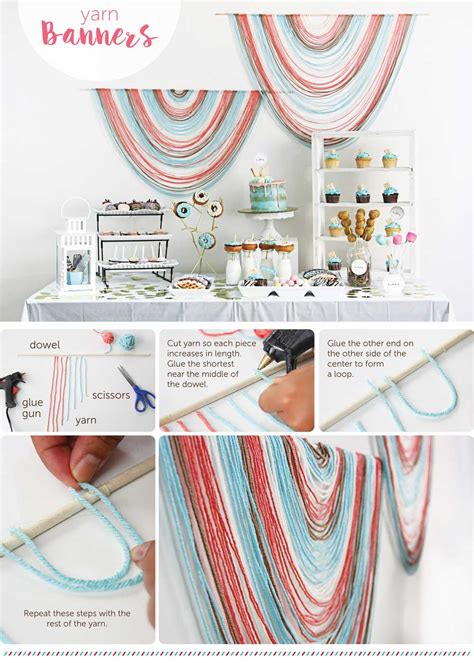 Wedding Table Banner by Diy How To Design A Wedding Reception Dessert Table