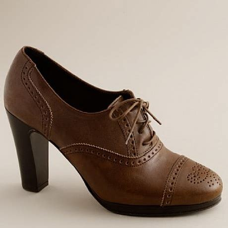 oxford shoes heels high heel oxfords