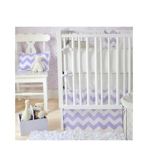 Lavender Crib Bedding Sets New Arrivals Zig Zag Lavender 3 Baby Crib Bedding Set