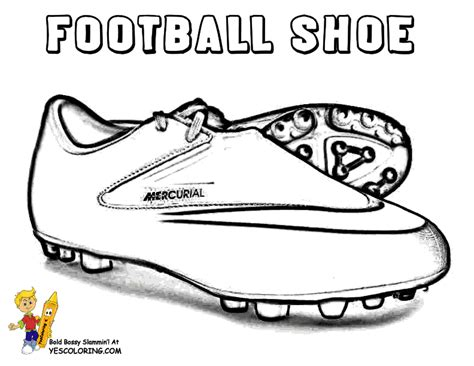 nike football coloring page gritty gridiron football coloring sheets football player