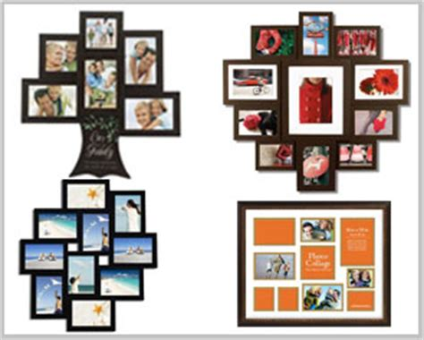 collage style picture frames extensive selection of collage picture frames