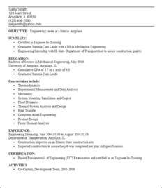 resume sles for students sle resume for college