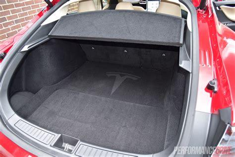 Tesla Model S Luggage Space 2015 Tesla Model S P90d Review Performancedrive